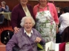 Molly Wood, 105th birthday party
